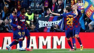 Las notas de los jugadores del Barça ante el Getafe