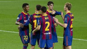 El Barça se estrena en la Champions con goleada ante el Ferencvaros