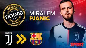 El Barça anuncia el fichaje de Pjanic