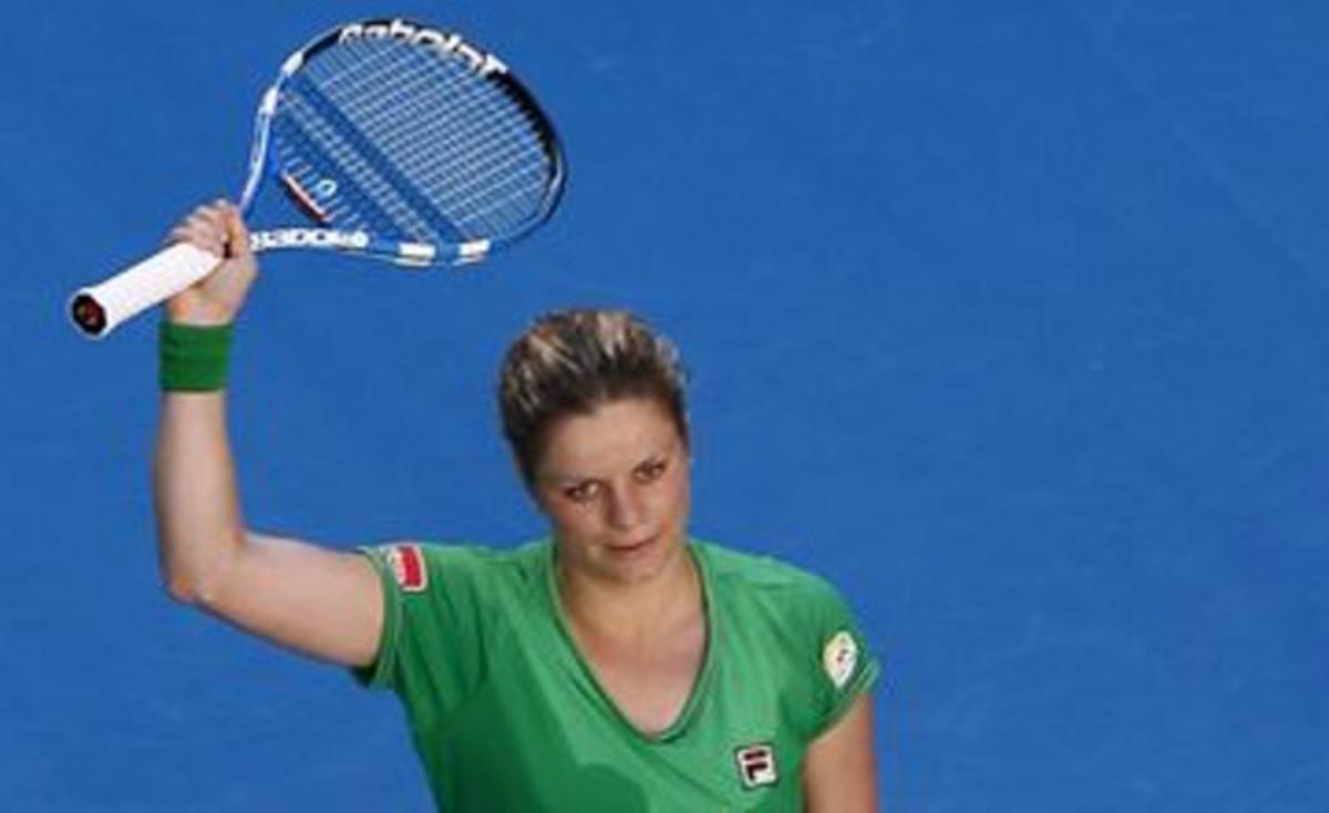 Clijsters celebra su pase a la final