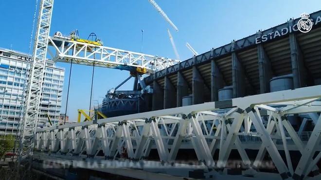 Así están las obras del nuevo Santiago Bernabéu