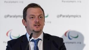 Andrew Parsons, presidente del Comité Paralímpico Internacional