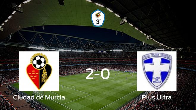 El Ciudad de Murcia gana 2-0 al Plus Ultra y se lleva los tres puntos