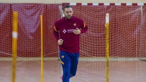 Cindric ya trabaja en la Ciutat Esportiva
