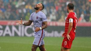 Memphis Depay volvió a ser el mejor del FC Barcelona. ¡Atención al jugadón del delantero!