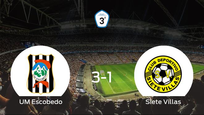 Tres puntos para el equipo local: UM Escobedo 3-1 Siete Villas