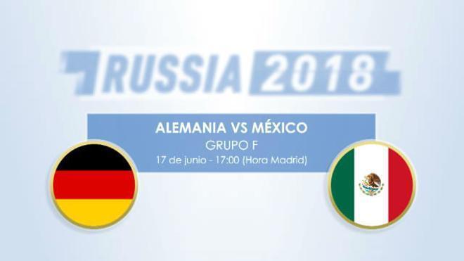 Cara a cara: Alemania vs México
