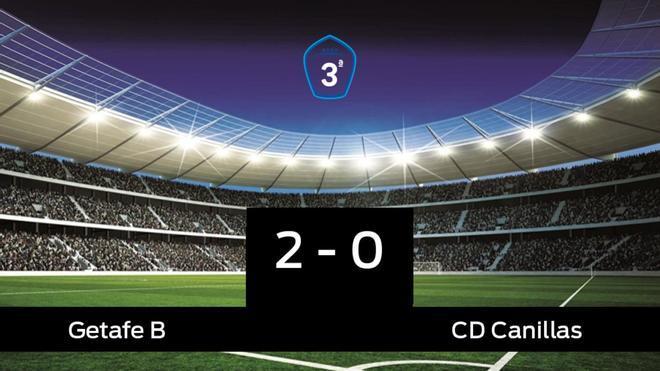 El Getafe B derrota en casa al Canillas por 2-0