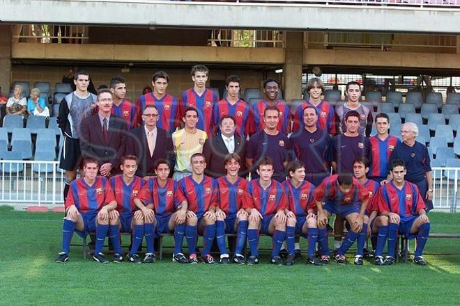 21. Gerard Piqué 2002-03