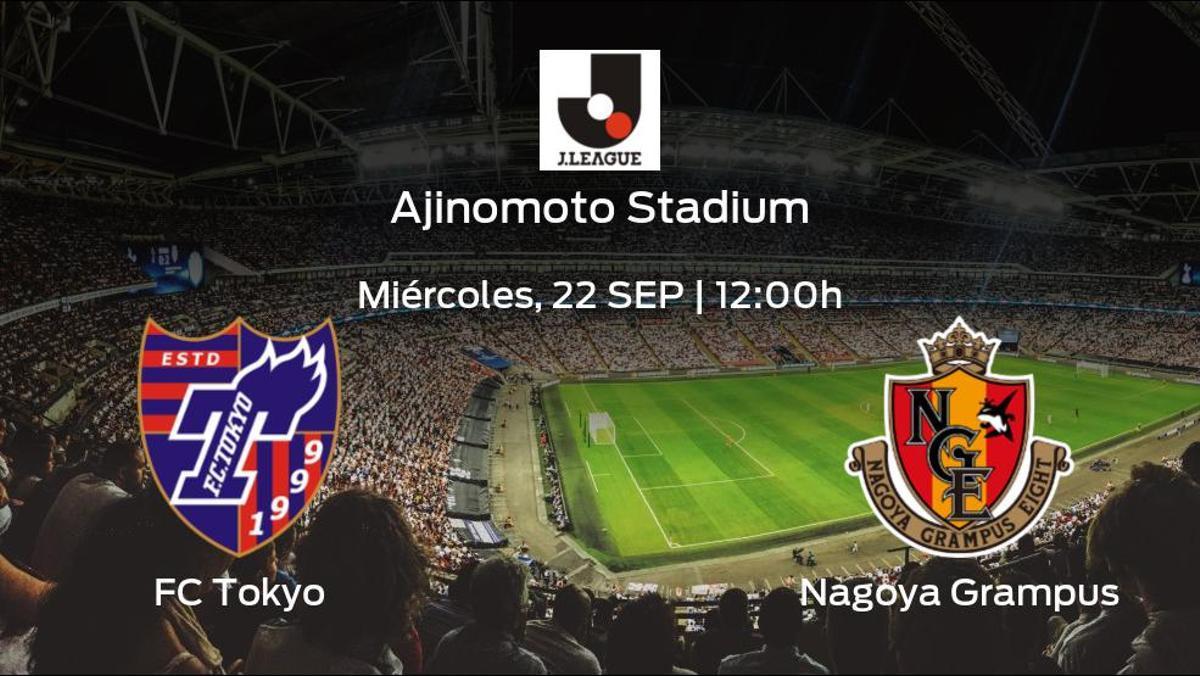 Previa del encuentro: el FC Tokyo recibe al Nagoya Grampus en la trigésimo segunda jornada