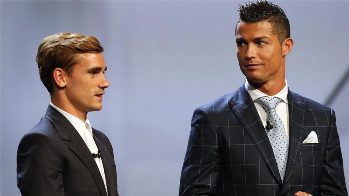 CR7, Griezmann y Mbappé competirán por el Globe Soccer Award
