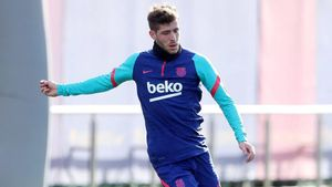 Sergi Roberto volvió a los entrenos el pasado sábado después de dos meses lesionado