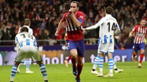 Godín firmó el gol de la remontada ante el Athletic