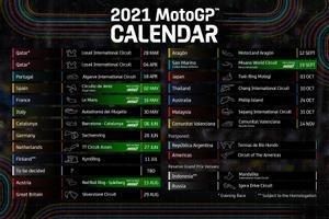 El nuevo calendario 2021