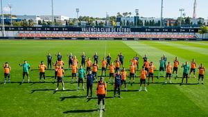 El Valencia respalda a Diakhaby y se manifiesta contra el racismo