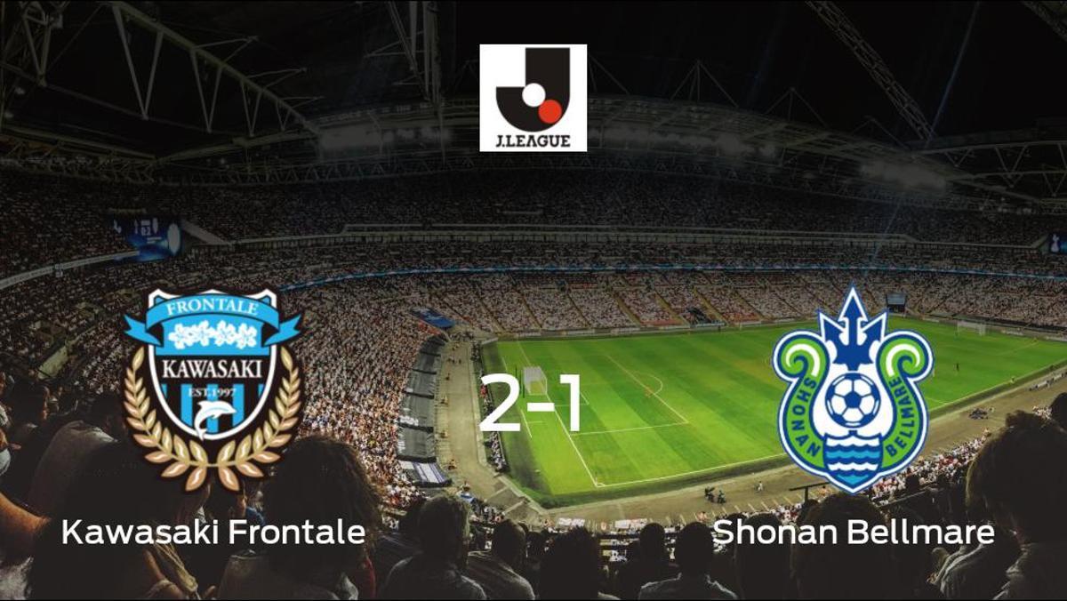2-1: El Kawasaki Frontale se impone al Shonan Bellmare en casa