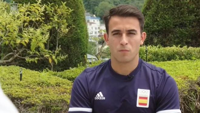 Eric García valora la actuación de España en la Eurocopa y las posibilidades de la selección en Tokio