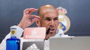 Zidane fue explícito en rueda de prensa