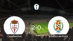 Los tres puntos se quedan en casa: Real Carabanchel 2-0 Atlético de Pinto