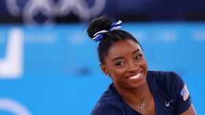 Simone Biles: No esperaba ganar una medalla