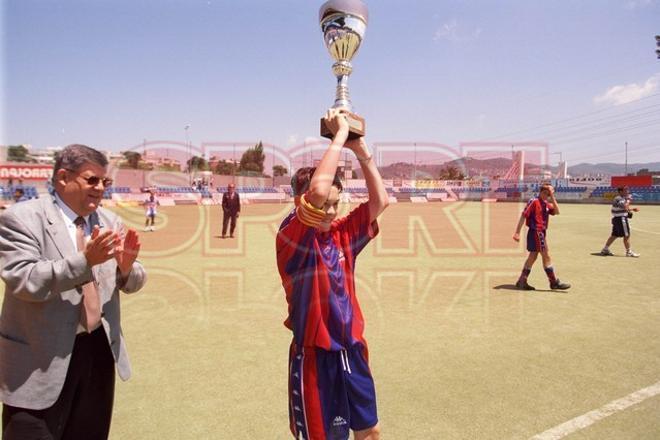 5. Andrés Iniesta 1997-98