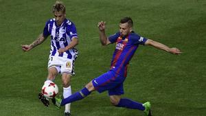La final de Copa contra el Barça ha sido el último partido de Kiko Femenía con el Alavés
