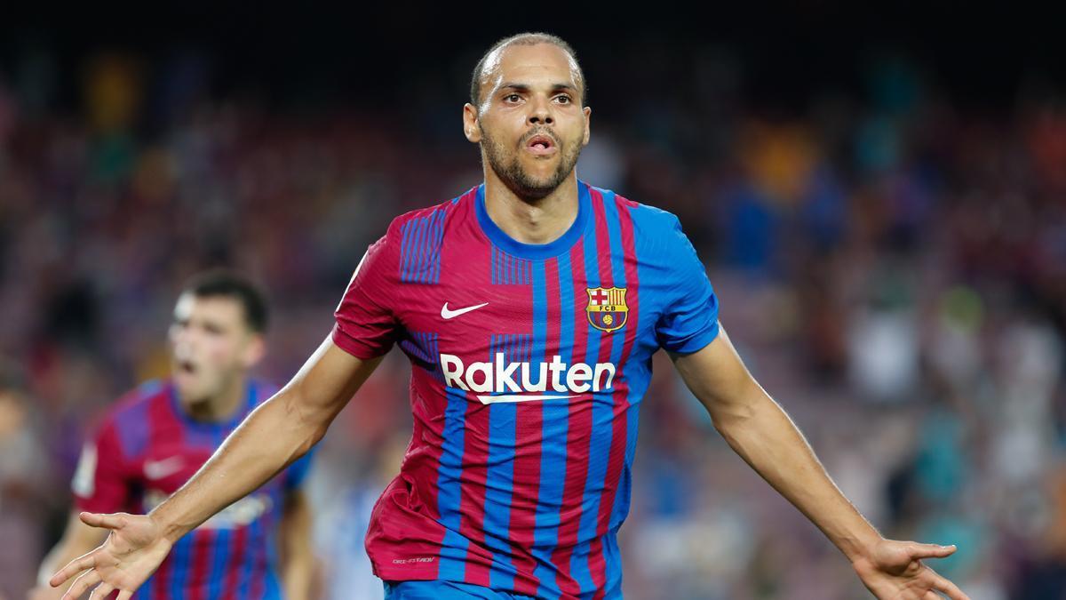 ¡El Barça quiere darle una patada a la nostalgia! ¡Lo hace a base de goles... de goles de Braithwaite!