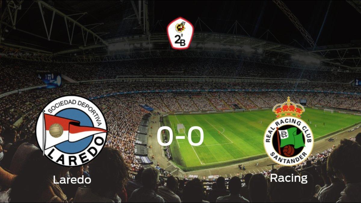 El Laredo y el Racing de Santander concluyen su enfrentamiento en el Campo San Lorenzo sin goles (0-0)