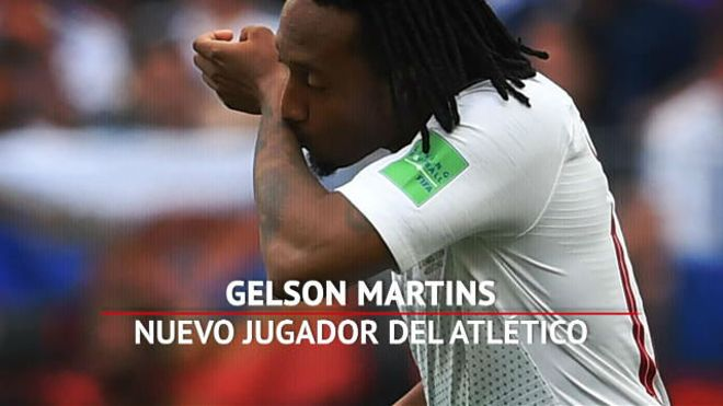 Este es Gelson Martins, el nuevo jugador del Atleti