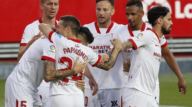 El Sevilla atraviesa su momento más dulce del curso