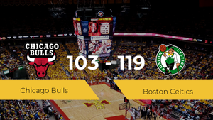 Victoria de Boston Celtics ante Chicago Bulls por 103-119