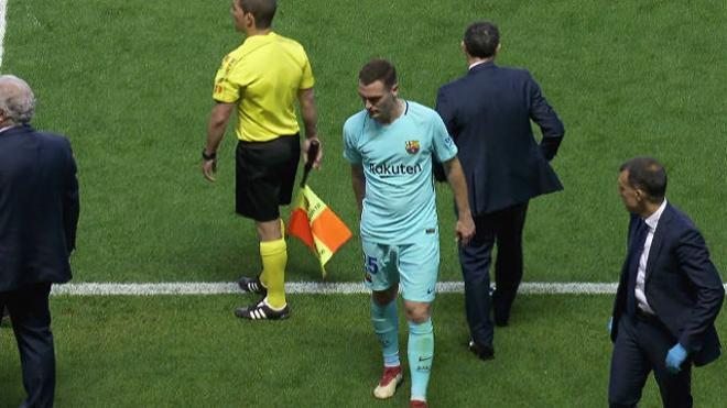 LALIGA   Levante - FC Barcelona (5-4): La lesión de Vermaelen