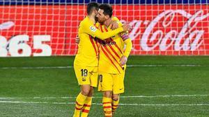 El 1x1 del Barça ante el Huesca en el descanso
