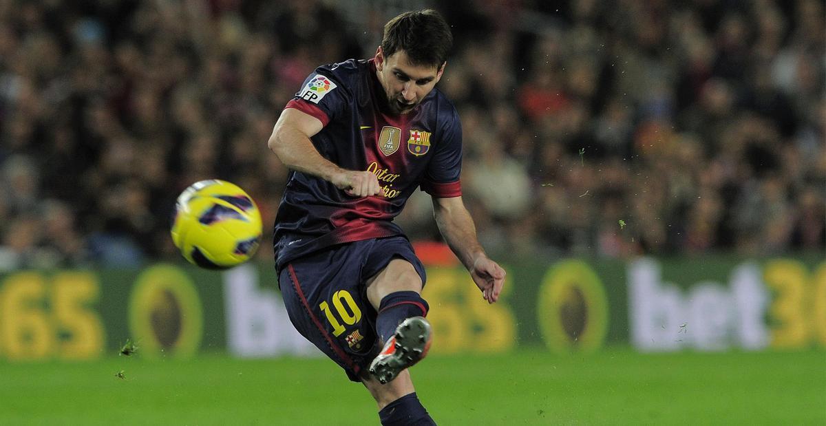 Los 10 mejores lanzamientos de falta de Messi