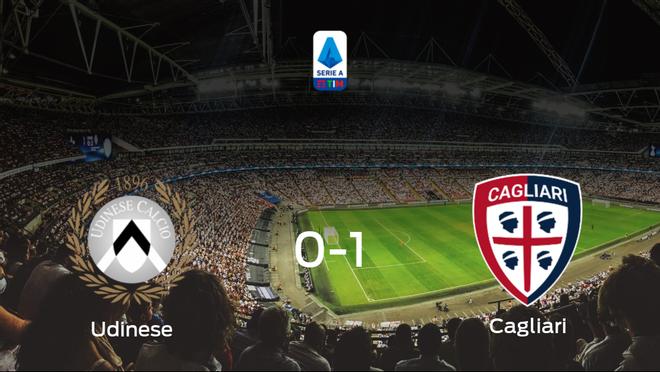 El Cagliari consigue los tres puntos tras derrotar 0-1 al Udinese