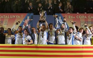 El Europa, tricampeón de la Copa Catalunya