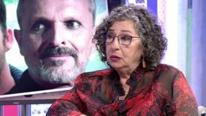 Lola Medina, madre de Nacho Palau, en su última visita a Sábado Deluxe