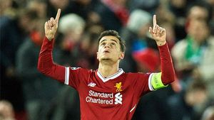 LACHAMPIONS | Liverpool - Spartak (7-0): El hat trick de Coutinho