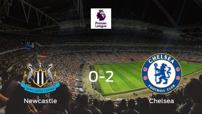 El Chelsea se lleva los tres puntos frente al Newcastle United (0-2)