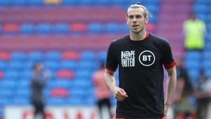 Bale, antes de un partido de Gales