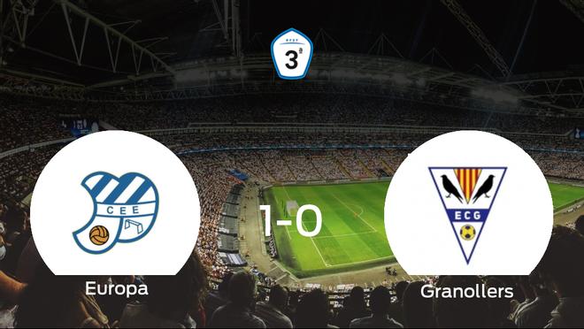 Tres puntos para el equipo local: CE Europa 1-0 EC Granollers