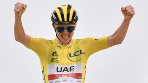 Pogacar, líder dominante del Tour