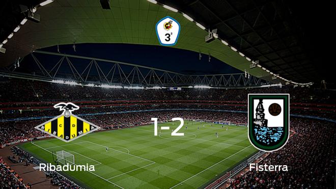 El Fisterra consigue los tres puntos después de derrotar 1-2 al Ribadumia