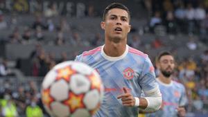 Cristiano Ronaldo, en Champions