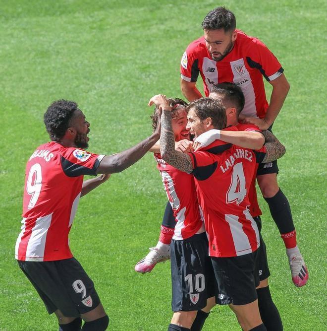 El Athletic Club cuenta con dos victorias y dos derrotas en sus últimas disputas por liga