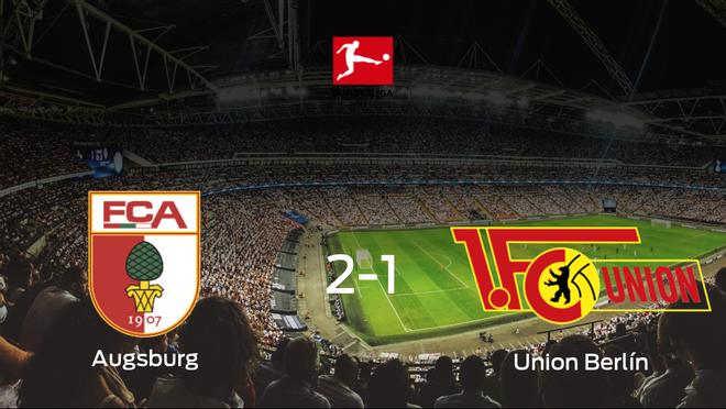 El FC Augsburg vence 2-1 al Union Berlín en el Impuls Arena