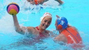 Maica García, en un lance del Mundial de Gwangju