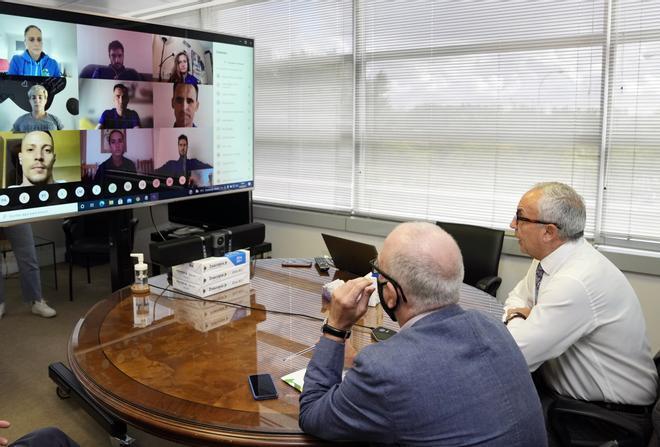 Alejandro Blanco, ha compartido una reunión telemática con los 19 representantes del Proyecto FER