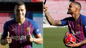 Jeison Murillo y Kevin-Prince Boateng, dos de los fichajes del Barça en este mercado de invierno