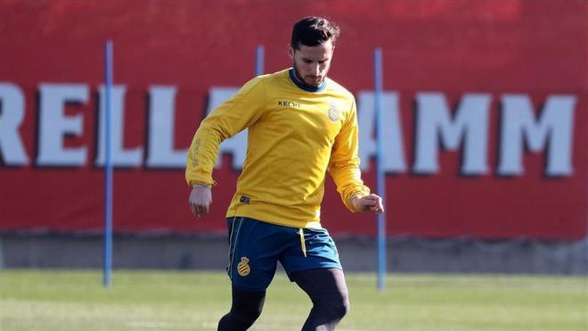 Piatti se entrena con el Espanyol
